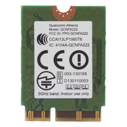 Qualcomm Atheros QCNFA222 AR5BWB222 2.4/5GHz 802.11abgn Bluetooth 4.0 Wifi Card