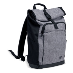 "Predator Rolltop Jr.,  15.6"", Black/Grey, Backpack Carrying Case"