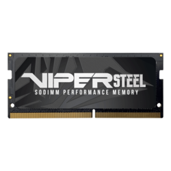 8GB Viper Steel DDR4 3000MHz, CL18, Grey, SO-DIMM Memory
