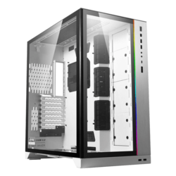 O11D XL-W Tempered Glass, No PSU, E-ATX, White (ROG), Full Tower Case