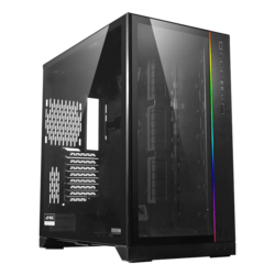 O11D XL-X Tempered Glass, No PSU, E-ATX, Black (ROG), Full Tower Case