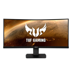 "TUF Gaming VG35VQ 35"", WQHD 3440 x 1440 VA LED, 1ms, 100Hz, Black, HDR10 Curved LCD Monitor"
