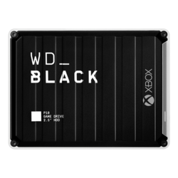 3TB WD_BLACK™ P10 Game Drive, USB 3.2 Gen 1, Portable, Black/White, External Hard Drive for Xbox One™