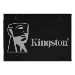256GB KC600 7mm, 550 / 500 MB/s, 3D TLC NAND, SATA 6Gb/s, 2.5-Inch SSD