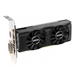 GeForce® GTX 1650 4GT LP, 1485 - 1665MHz, 4GB GDDR5, Graphics Card