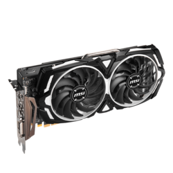 Radeon RX 580 ARMOR X, 1257 - 1366MHz, 8GB GDDR5, Graphics Card