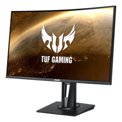 "TUF Gaming VG27VQ 27"", Full HD 1920 x 1080, VA LED, 1ms, 165Hz, FreeSync, Black, Curved LCD Monitor"