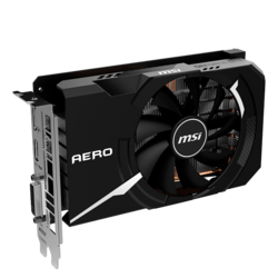 GeForce® GTX 1650 SUPER™ AERO ITX OC, 1530 - 1740MHz, 4GB GDDR6, Graphics Card