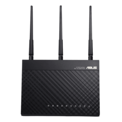 RT-AC1900P, IEEE 802.11ac, Dual-Band 2.4 / 5GHz, 600 /  1300 Mbps, 4xRJ45, USB 3.1/2.0 Wireless Router
