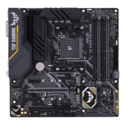 TUF B450M-PRO GAMING, AMD B450 Chipset, AM4, HDMI, microATX Motherboard