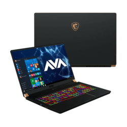 "- MSI GS75 Stealth-1074, 17.3"" FHD 144Hz 3ms, Core™ i7-9750H, NVIDIA® GeForce RTX™ 2080 Max-Q Gaming Laptop"
