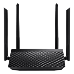 RT-AC1200 V2, IEEE 802.11ac, Dual-Band 2.4 / 5GHz, 300 / 867 Mbps, 4xRJ45, Retail Wireless Router