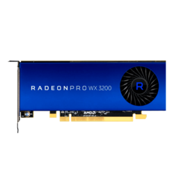 Radeon Pro WX 3200, 1082MHz, 4GB GDDR5, Graphics Card