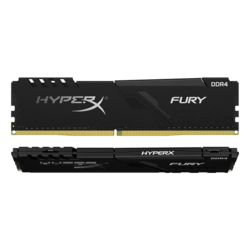 32GB Kit (2 x 16GB) HyperX FURY DDR4 3733MHz, CL19, Black, DIMM Memory