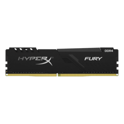 32GB HyperX FURY DDR4 2666MHz, CL16, Black, DIMM Memory