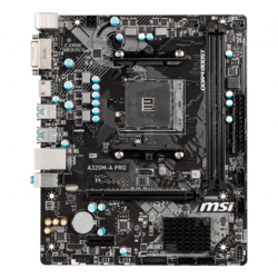 A320M-A PRO, AMD A320 Chipset, AM4, HDMI, microATX Motherboard