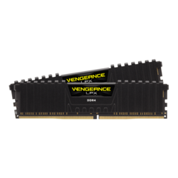 32GB Kit (2 x 16GB) Vengeance LPX DDR4 4000MHz, CL18, Black, DIMM Memory