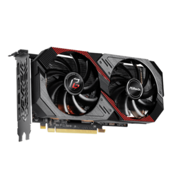 Radeon™ RX 5600 XT Phantom Gaming D2 6G OC, 1420 - 1750MHz, 6GB, GDDR6, Graphics Card