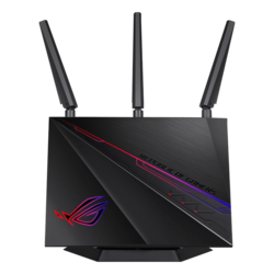 ROG RAPTURE GT-AC2900, IEEE 802.11ac, Dual-Band 2.4 / 5GHz, 750 / 2167 Mbps, 4xRJ45, 1x USB 2.0/3.0, Retail Wireless Router