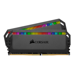 32GB Kit (2 x 16GB) Dominator Platinum RGB DDR4 4000MHz, CL19, Black, RGB LED, DIMM Memory