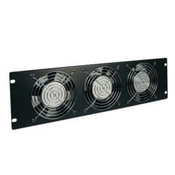 SmartRack 3U Fan Panel - 3-120V high-performance fans