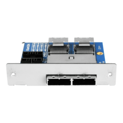 ZAGE-D-8788-DU Dual miniSAS SFF-8087 to SFF-8088 Device Adapter