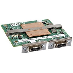 10GbE I/O NIC expansion module, dual port, CX4 connectors