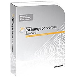 Exchange Server 2010 Standard, 64-bit, 1 Server, 5 Clients, Retail