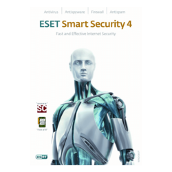 NOD32® Smart Security 4, 3 Users, 1 Year, Retail
