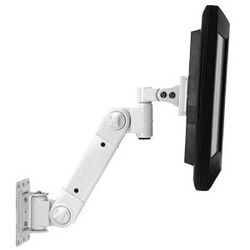 Wall Mount LCD Arm, Light Load, White