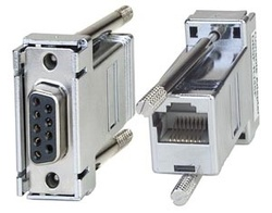 Serial Female DB9 to Female RJ45 Adapter