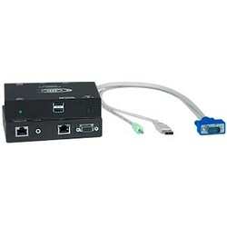 Hi-Res USB KVM Extender with Audio via CATx to 1,000 Feet