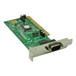 16550 PCI to Serial Card, PCI/DB-9, Low Profile