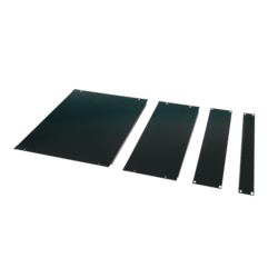 "AR8101BLK 19"" 1U, 2U, 4U, 8U Management Blanking Panel Kit, 4 pieces"