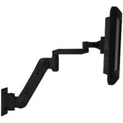 Wall Mount LCD Arm with Light Load Extension, Black