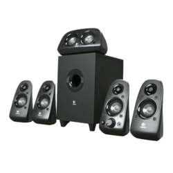 Z506, 5.1 (2 x 8W front, 1 x 16W center, 2 x 8W rear + 27W), Black, Retail Speaker System