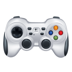 F710, Gamepad, Wireless 2.4GHz, White, Retail Joystick