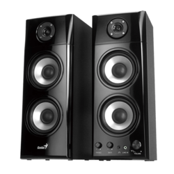 SP-HF1800A, 2.0 (2 x 25W), Black, Retail Speaker System