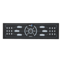 "F6XT Black Fan Controller Panel, 6-Channels, 5.25"" Bay"