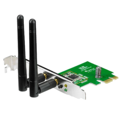 PCE-N15, Internal, 2.4GHz, 300 Mbps, PCI Express 2.0 x1, Wireless Adapter