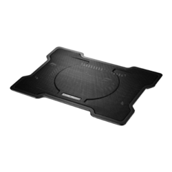 "NotePal X-Slim up to 17"", Black, Cooling Pad"