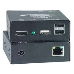 HDMI USB KVM Extender with Additional USB Port via One CATx to 300 feet