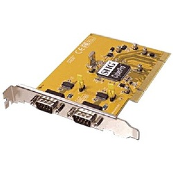 CyberSerial Dual+DOS PCI to Dual DB9 Serial Port