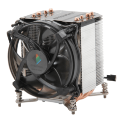 R17, 110mm Height, 165W TDP, Copper/Aluminum CPU Cooler