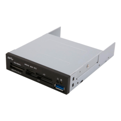"SST-FP37, Internal, 3.5"" Bay, USB 3.0, Card Reader"