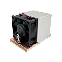 "FATS-D Socket 1207 Active 2U Server CPU Cooler, 3.5"" Mounting Pitch, 6800 RPM, 2 Ball Bearing, Copper"