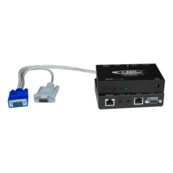 Hi-Res VGA Transmitter with RS232 via CATx to 1,000 feet