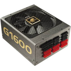G1600-MA, 80 PLUS Gold 1600W, Fully Modular, ATX Power Supply