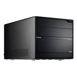 Shuttle XPC SZ77R5 Black Mini PC Barebone, LGA1155, Intel® Z77, DDR3-1600 32GB /4, PCIe x16, SATA 6 Gb/s /2, DVI + HDMI, USB 3.0 /4, HDA, GbLAN, 500W PSU