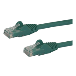 N6PATCH5GN 5ft Green Gigabit Snagless RJ45 UTP Cat6 Patch Cable